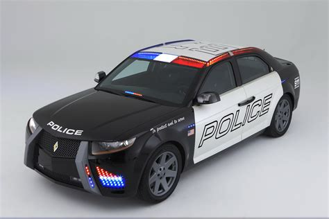 police car world concept cars carbon motors e7 police car gets bmw