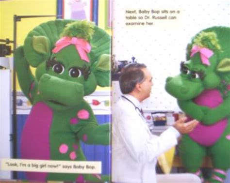 Barney Lets Go To The Doctor Story Book barney goes to the doctor book covers