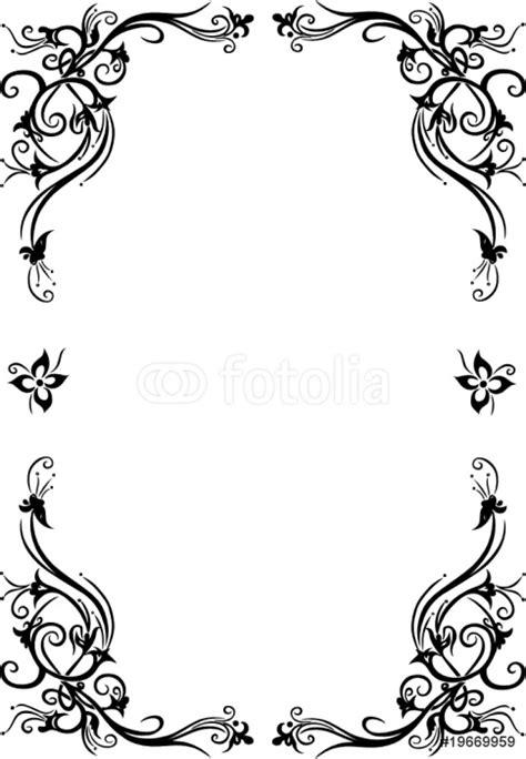 cornici fiori carta da parati cornici fiori floreali ornamentali