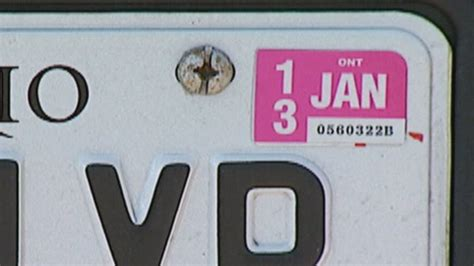 License Sticker Renewal