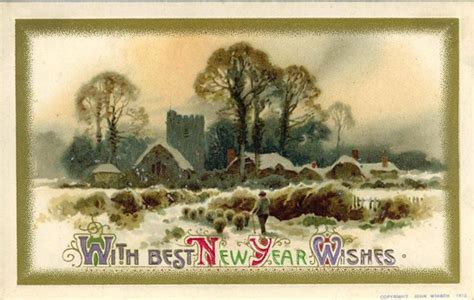 new year wishes sheep year free clip from vintage crafts 187 archive