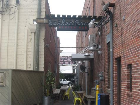 boiler room oyster bar alley sign picture of the boiler room oyster bar kinston tripadvisor