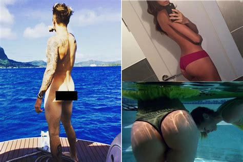 rihanna flaunts bare butt on instagramsee the pic e online wow celebrities love showing their butts on instagram