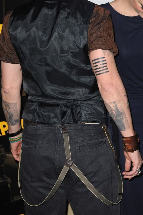 johnny depp ching tattoo i ching 9 hsiao khu the one only mr depp pinterest
