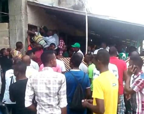 pics see how nigerians are struggling to buy ticket for
