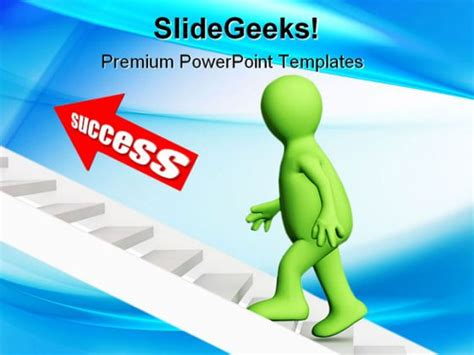 success powerpoint templates success business powerpoint template 0910