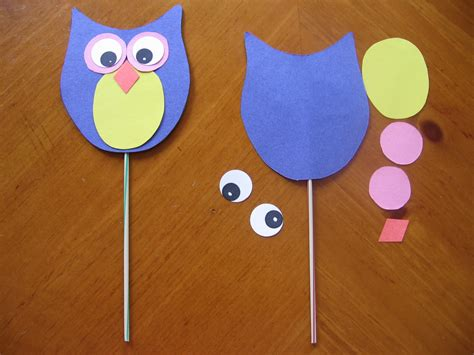 And Craft Paper - owls crafts when my are bored parenting and stuff