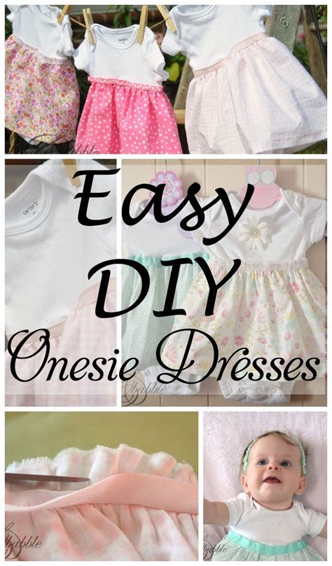 tristinandcompany linky love diy dresses edition diy onesie dresses create and babble
