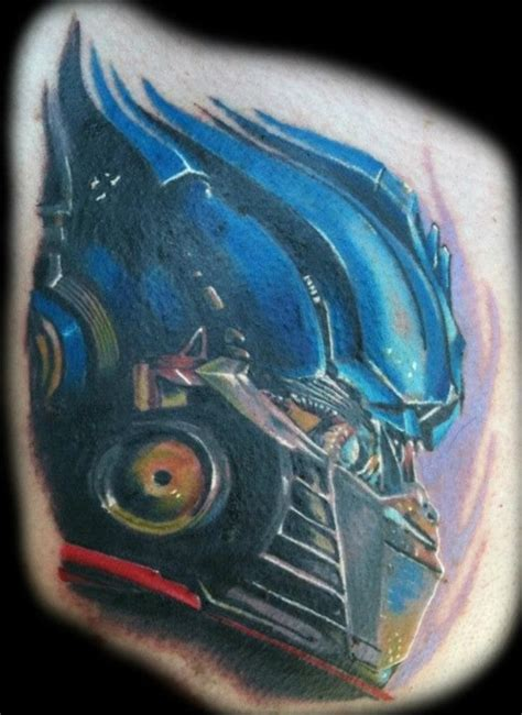 optimus prime tattoo optimus prime tattoomagz