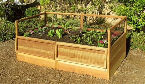 cedar raised garden bed plans cedar trellis planter box plans woodworking projects plans