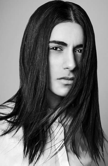 male models with long straight hair 100 long hairstyles ideas for men who love their mane