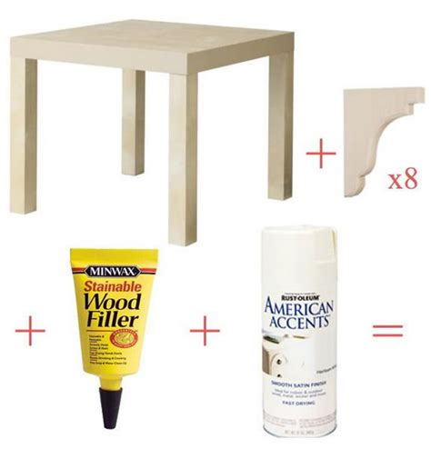 ikea side table hacks top 10 ikea lack table hacks tutorial and ideas noted list