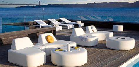 Manutti Belgian Outdoor Furniture Modern Patio Miami Contemporary Outdoor Furniture Miami