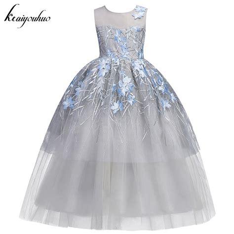 Hm Dress Princess Fit L aliexpress buy keaiyouhuo children princess dress for wedding dress bridesmaid