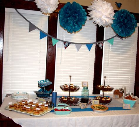 simple baby boy shower ideas circles of handmade vintage baby shower ideas