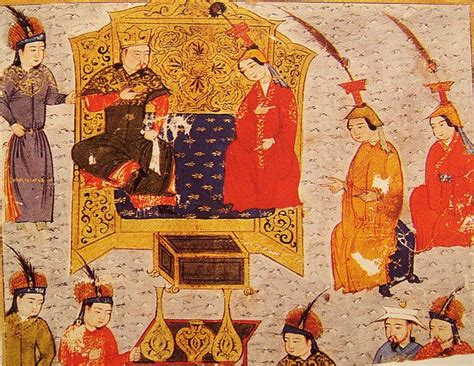 The Chronicle Ofjengis Khan tolui khan with his sorghaghtani rashid al din early 14th century tului 1192 1232 was