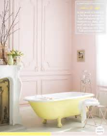 colour palette yellow pink bathroom bright bazaar by will