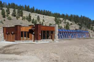 Energy Efficient Homes Plans Big Sky Solar Powered Stone Earthship Is Off Grid Living