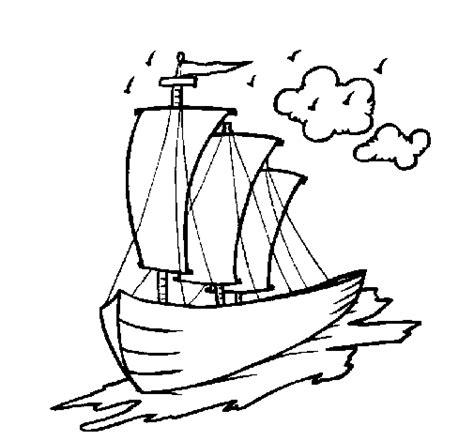barcos para colorear en linea dibujos de veleros imagui