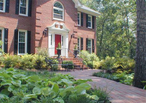 Home Garden Design Atlanta 1 Lush Landscape Surrounds New Entrance Hardscape