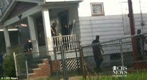 ariel castro house cleveland kidnappings captures the moment cops