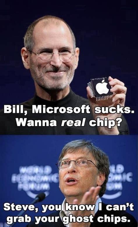 Bill Gates Memes - bill gates steve jobs meme virus