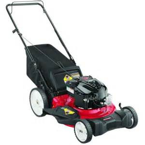 home depot lawnmowers 21 in 190 cc gas walk lawn mower