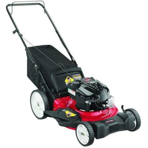 21 in 190 cc gas walk lawn mower