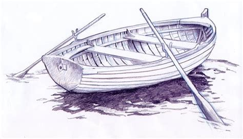 how to draw a jon boat row boat drawing at getdrawings free for personal