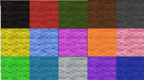 Minecraft Bukkit Plugin Color Match Colored Wool Mini Minecraft Colors