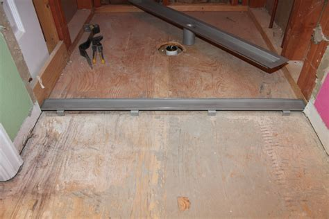 Installation of Laticrete Linear Drain (Part 2)