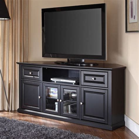 Corner Media Cabinet For 60 Tv   WoodWorking Projects & Plans