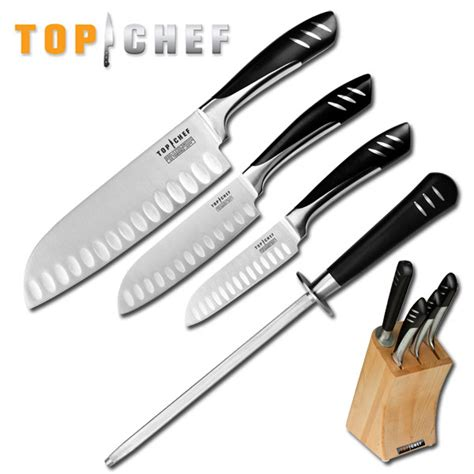 Professional Kitchen Knives Set Wholesale Lot 3 Top Chef Professional Santoku Knives Stainless Kitchen 5pc Sets Ebay