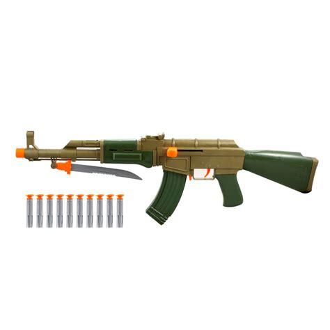 Soft Bullet Gun by Army Ak 47 Soft Bullet Gun