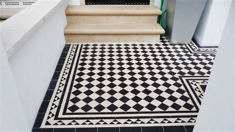Black And White Tile Kitchen Ideas by Victorian Floor Tiles Tiles On Sheets Geometric