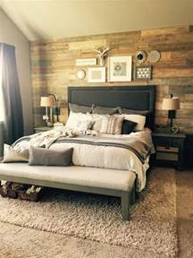 Bedroom Accent Wall Ideas cozy farmhouse master bedroom design ideas 501 fres hoom