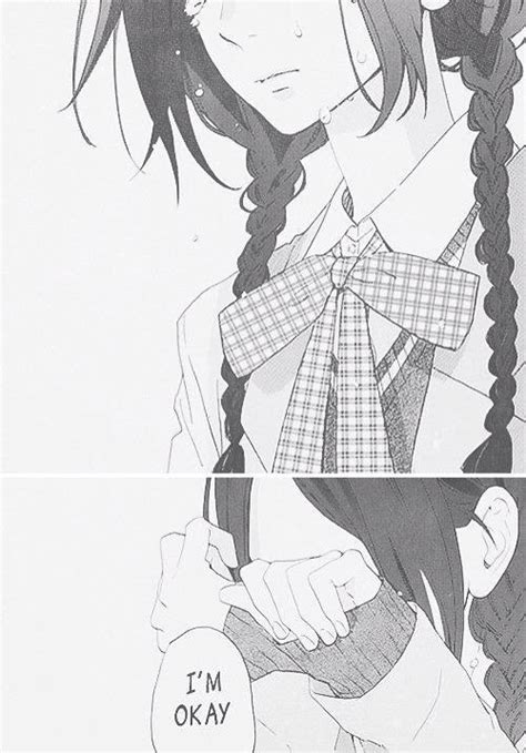 manga cover im in love with girl cute black and white sad anime kawaii manga