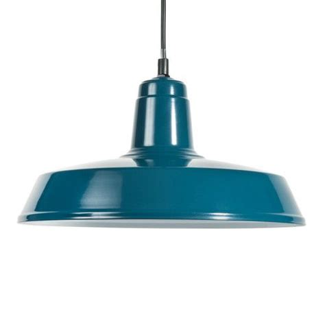 suspension indus en m 233 tal bleue burbank maisons du monde