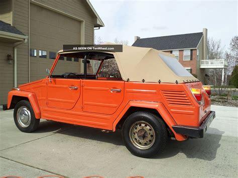 1973 volkswagen thing unrestored condition