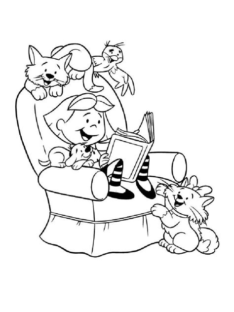 clifford coloring pages free printable clifford coloring
