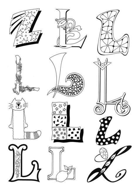 printable alphabet doodles 254 best alphabets and fonts images on pinterest