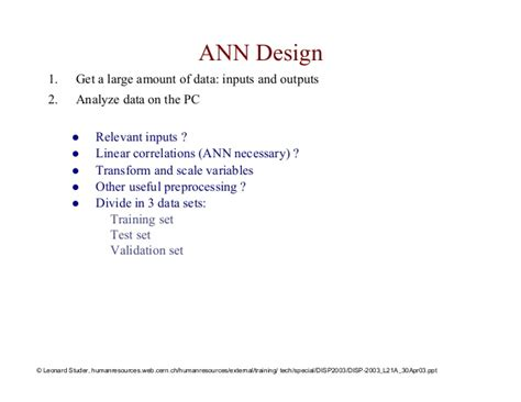 design principles of pattern recognition system in artificial intelligence lecture artificial neural networks and pattern recognition