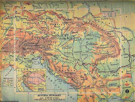 austria on map composition austrian empire and separate on