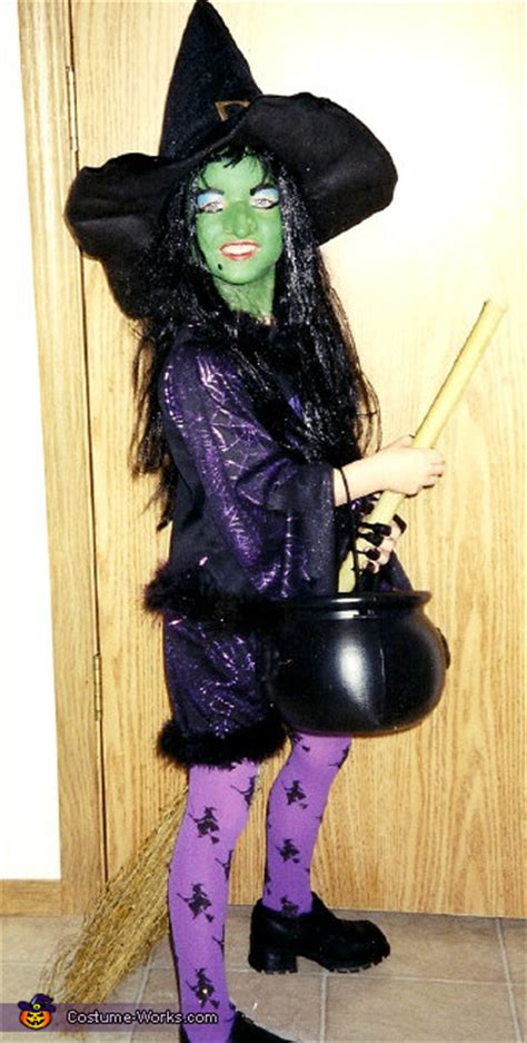 homemade wicked witch costume  girls