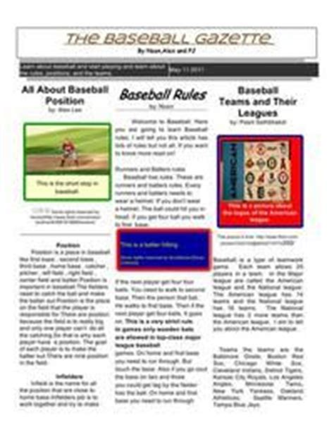 Newspaper Template For Docs by Best 25 School Newspaper Ideas On
