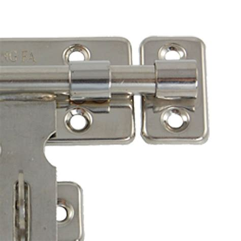 How To Put A Lock On A Door by Hardware Door Lock Barrel Bolt Latch Padlock Clasp Set New Ebay