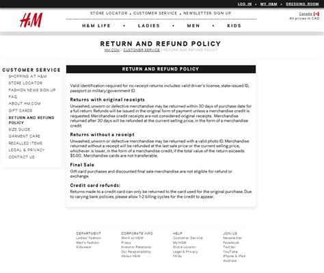 Refund Policy Template Make Your Returns Policy Easy To
