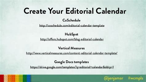 Small Business Guide To Content Strategy Hubspot Editorial Calendar Template