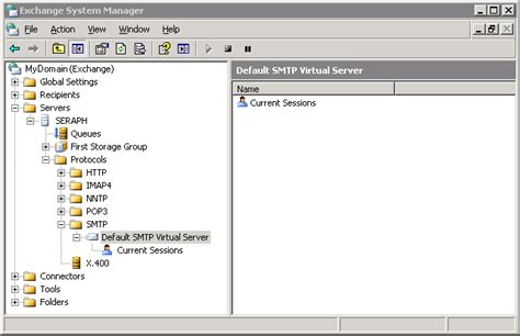 exchange management console how to setup a smarthost in exchange 2003 support area