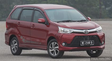 toyota avanza gallery toyota avanza facelift now on sale in m sia